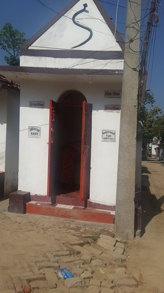 Small Mandir in Kailashpuri, Sitamarhi established by my dad